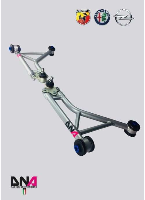 DNA Racing front suspension arms kit