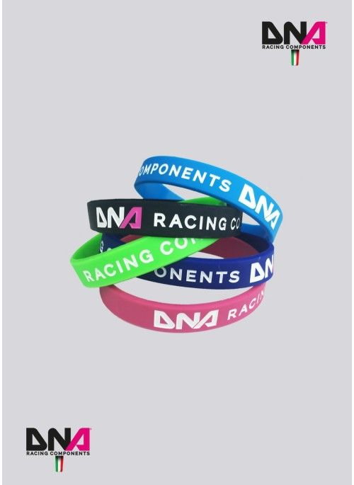 Bracciale in silicone DNA Racing Components