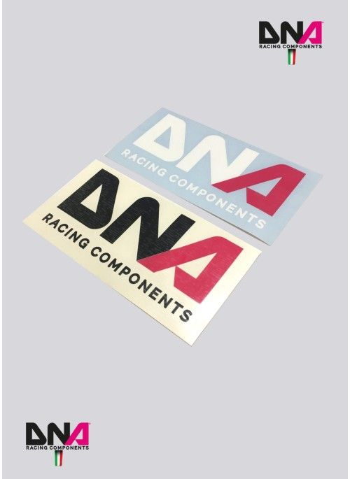 Adesivo prespaziato cm6x13 DNA Racing Components